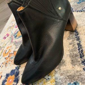 Pikolonos Beautiful Black Leather Booties EUC